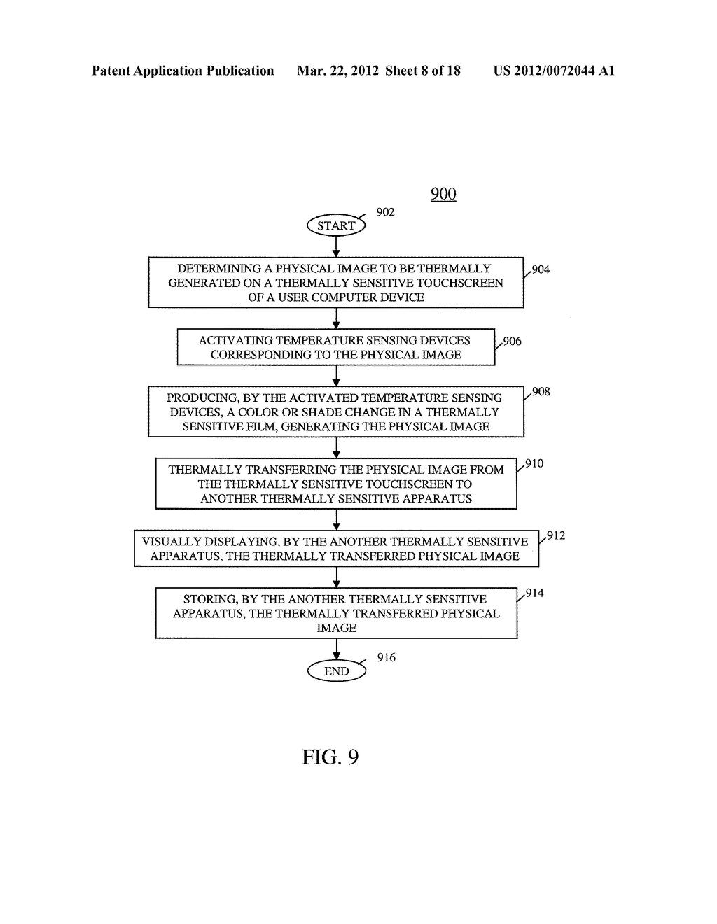 USER COMPUTER DEVICE WITH TEMPERATURE SENSING CAPABILITIES AND METHOD OF     OPERATING SAME - diagram, schematic, and image 09