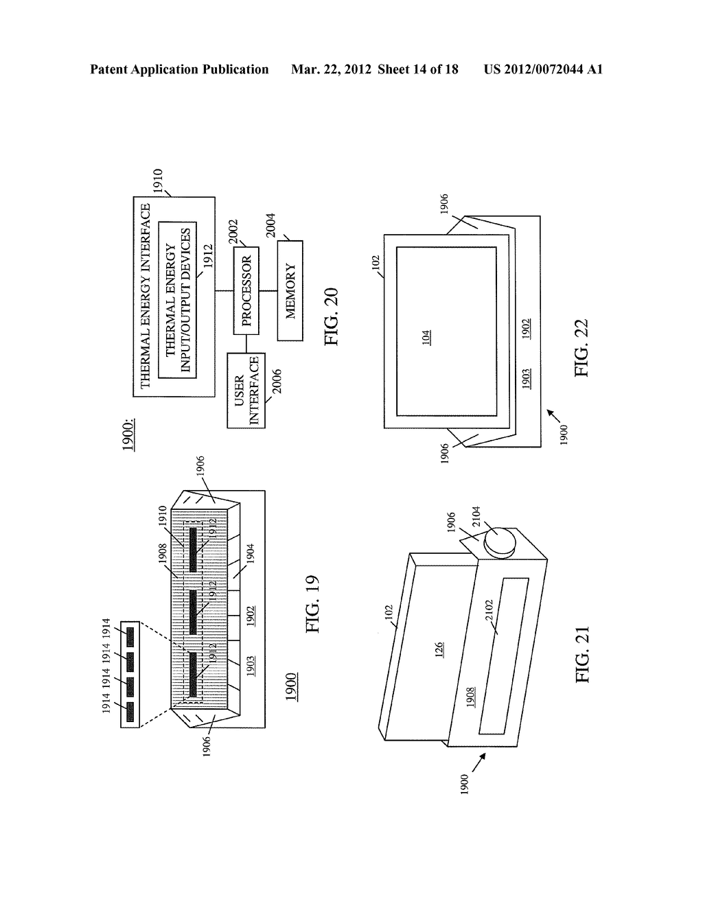 USER COMPUTER DEVICE WITH TEMPERATURE SENSING CAPABILITIES AND METHOD OF     OPERATING SAME - diagram, schematic, and image 15