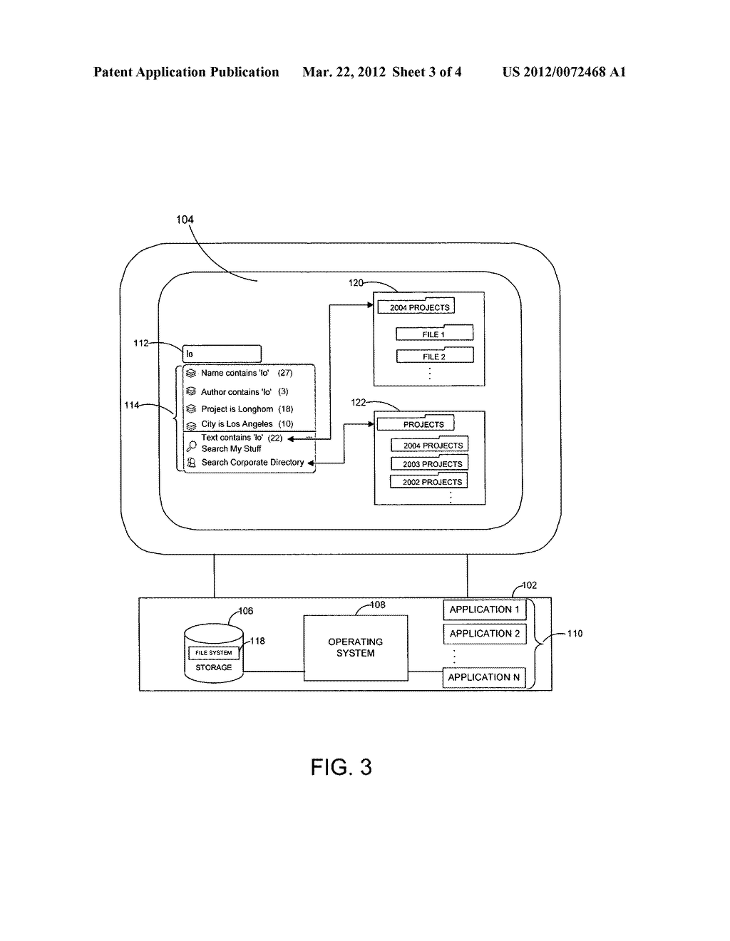 SYSTEM AND METHOD FOR DYNAMICALLY GENERATING A SELECTABLE SEARCH EXTENSION - diagram, schematic, and image 04