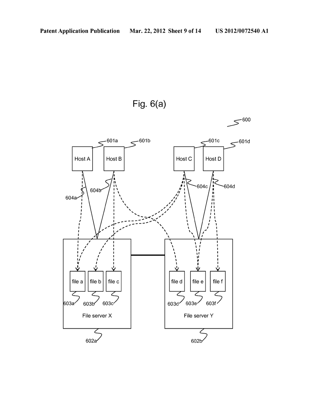 Method of Managing A File Access In A Distributed File Storage System - diagram, schematic, and image 10