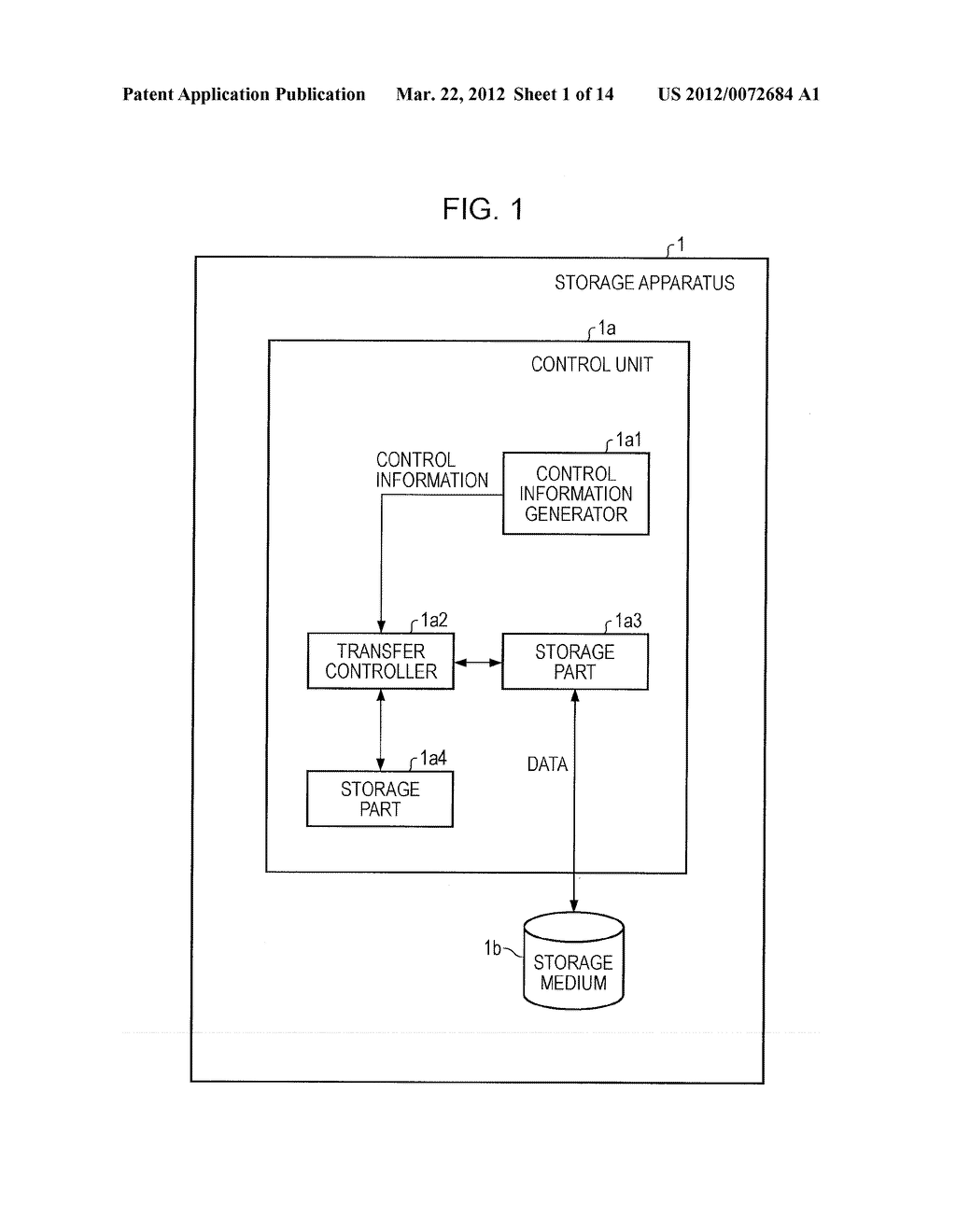 STORAGE APPARATUS AND CONTROLLING METHOD - diagram, schematic, and image 02