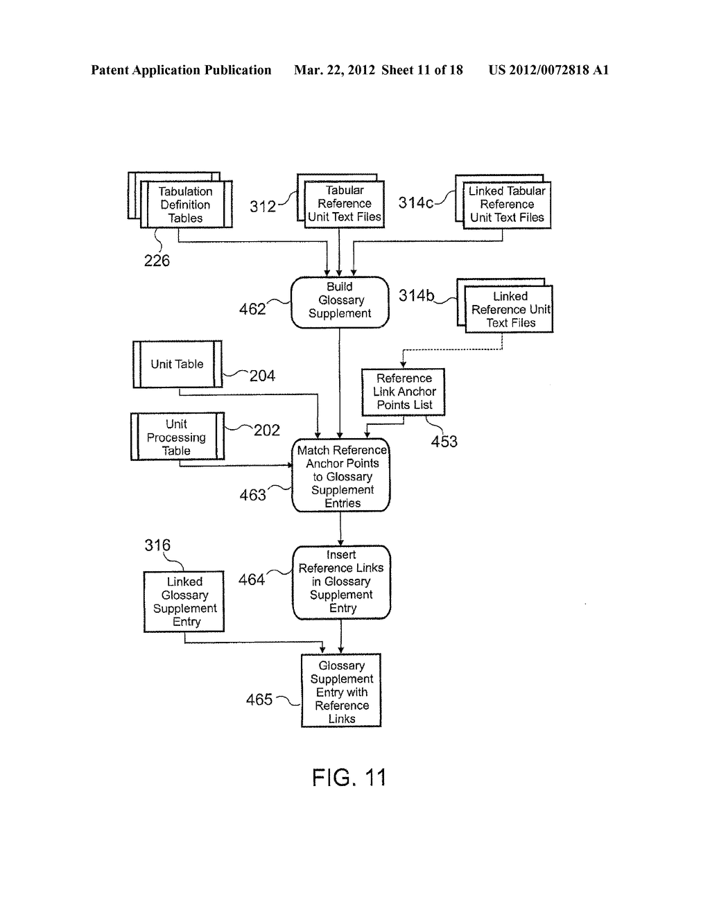 METHOD AND APPARATUS FOR ELECTRONIC LITERARY MACRAME COMPONENT REFERENCING - diagram, schematic, and image 12
