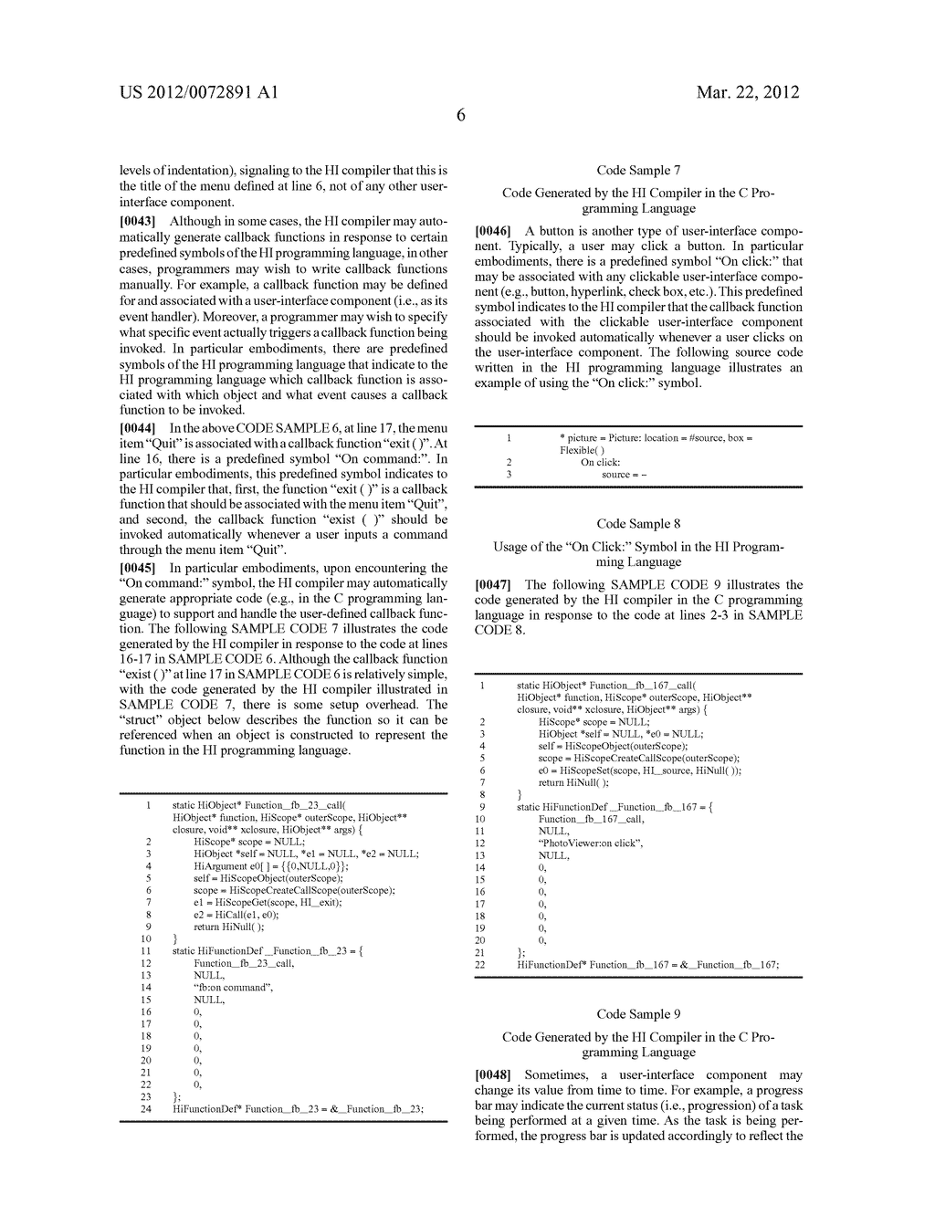Computer Language Syntax for Automatic Callback Function Generation - diagram, schematic, and image 10