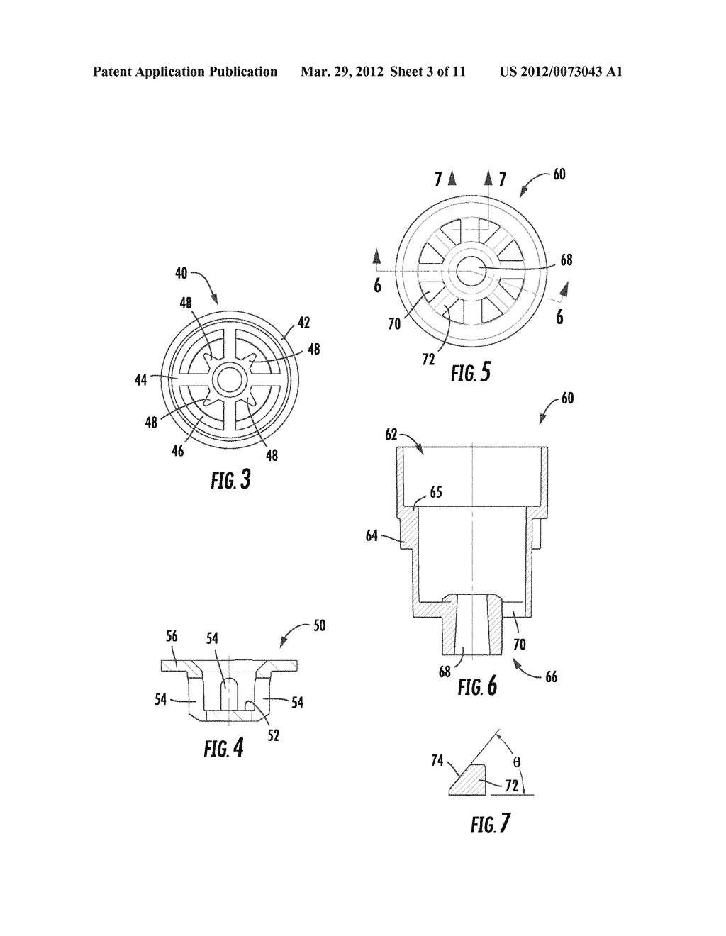 SHOWERHEAD FOR EMERGENCY FIXTURE - diagram, schematic, and image 04