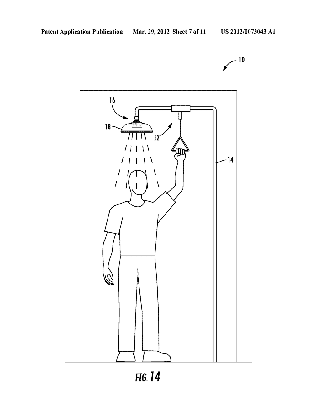 SHOWERHEAD FOR EMERGENCY FIXTURE - diagram, schematic, and image 08