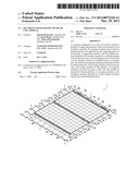 SECURING CONFIGURATION OF SOLAR CELL MODULE diagram and image