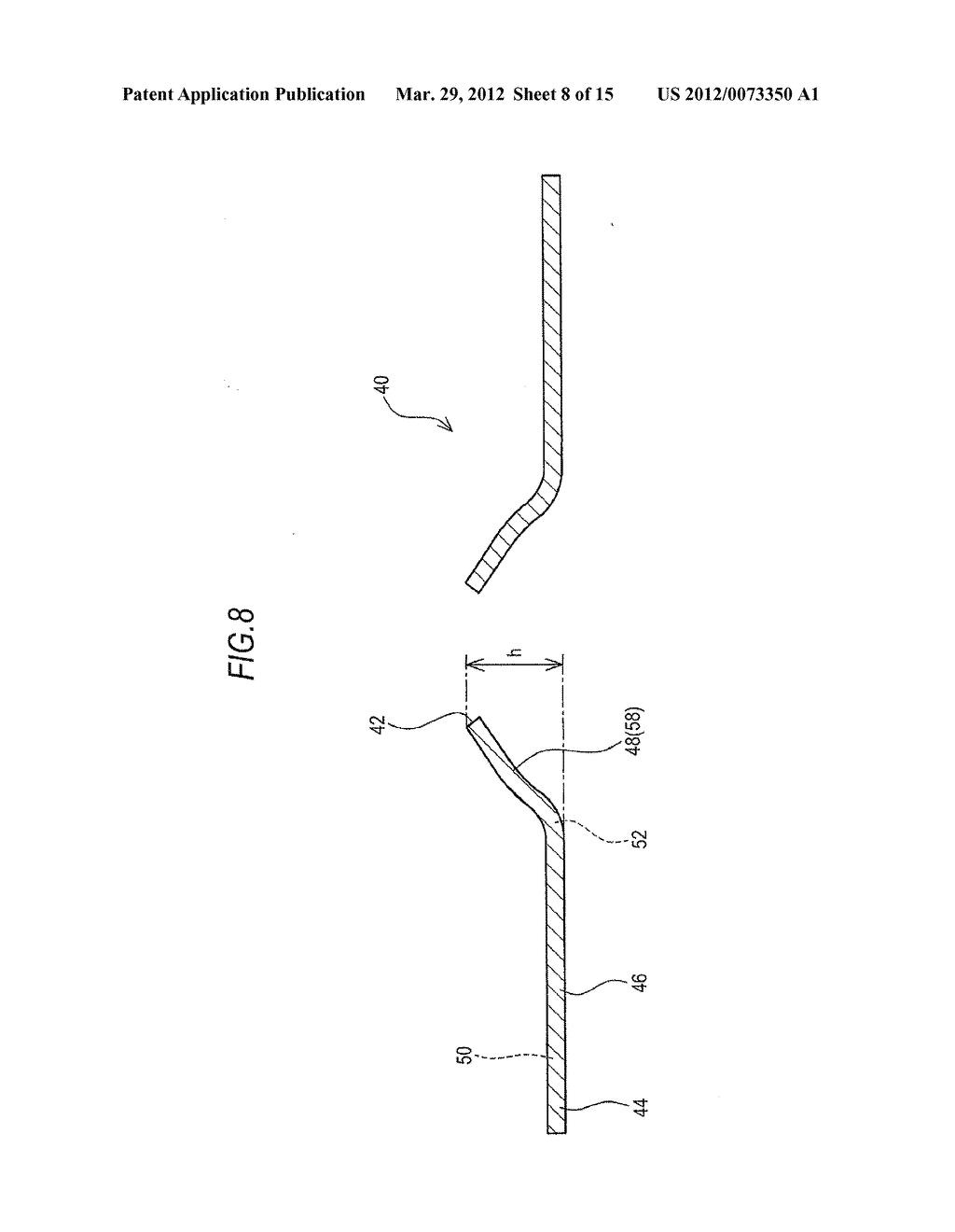 BOSSED DISC-LIKE MEMBER MANUFACTURING METHOD AND BOSSED DISC-LIKE MEMBER     MANUFACTURING APPARATUS - diagram, schematic, and image 09