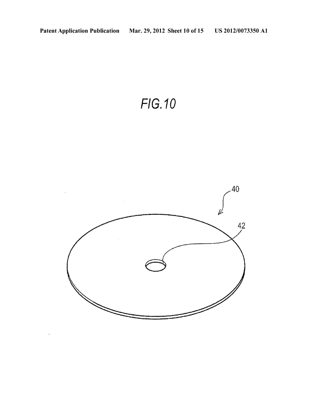 BOSSED DISC-LIKE MEMBER MANUFACTURING METHOD AND BOSSED DISC-LIKE MEMBER     MANUFACTURING APPARATUS - diagram, schematic, and image 11