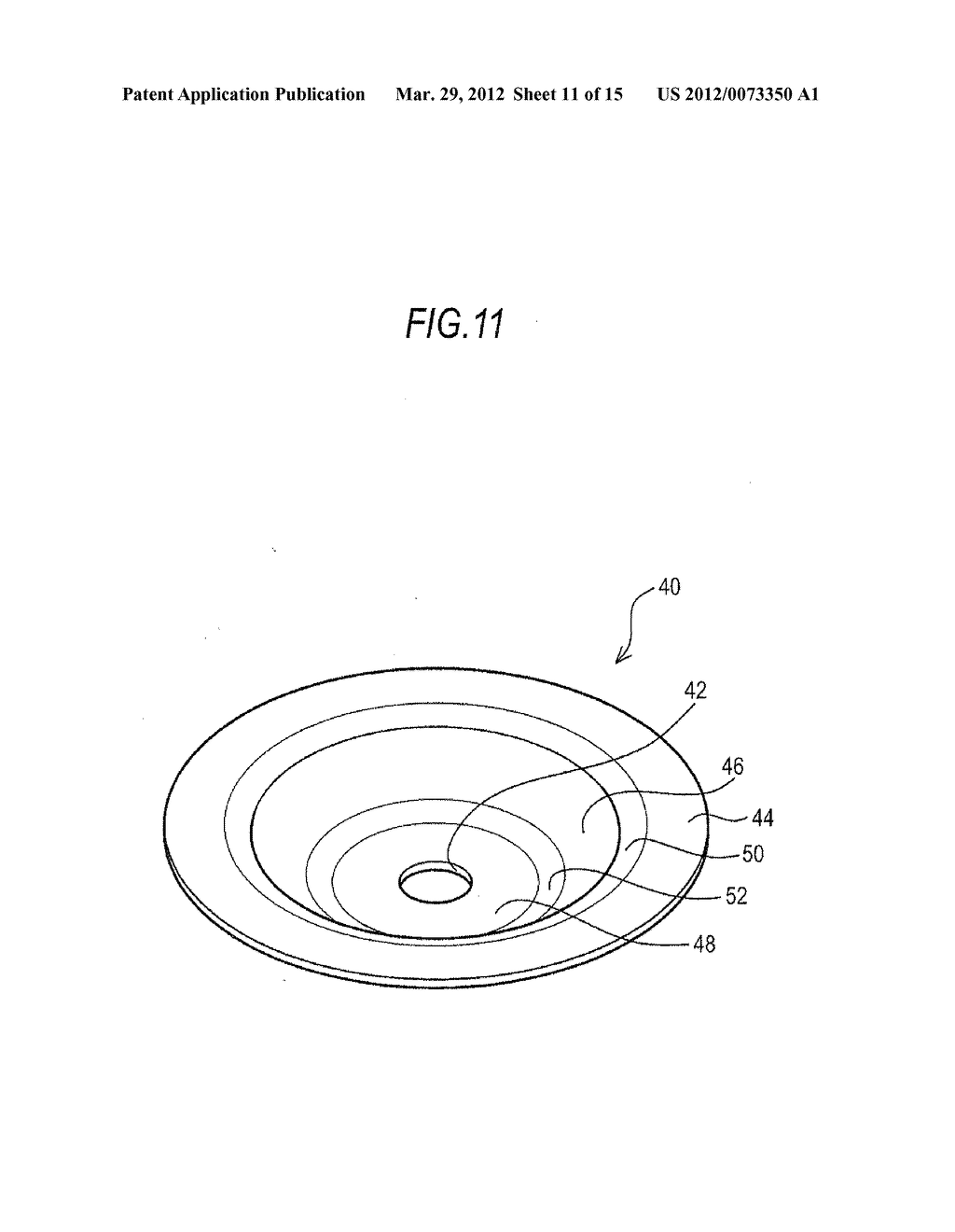 BOSSED DISC-LIKE MEMBER MANUFACTURING METHOD AND BOSSED DISC-LIKE MEMBER     MANUFACTURING APPARATUS - diagram, schematic, and image 12