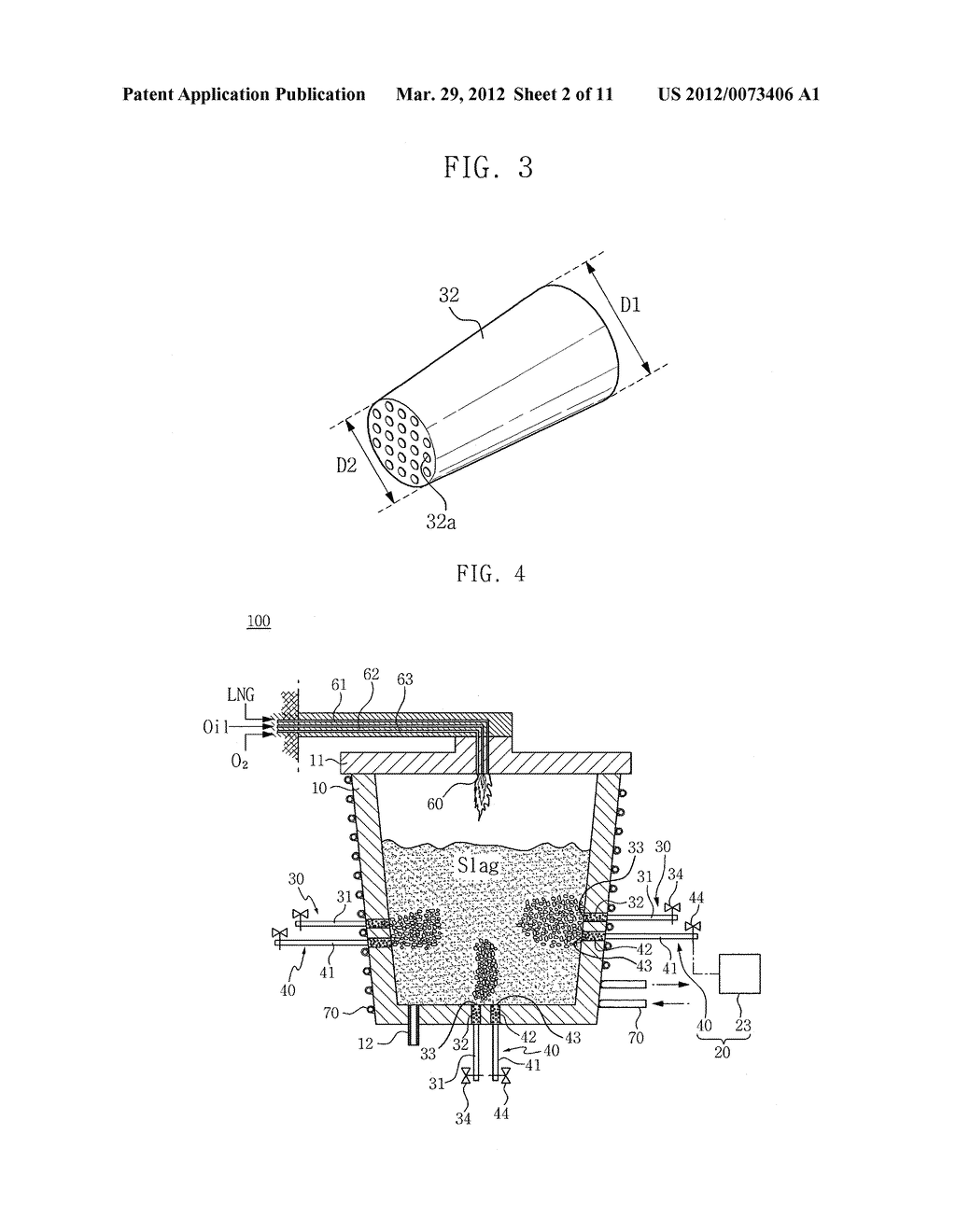 METHOD AND APPARATUS FOR RECOVERING VALUABLE METALS FROM SLAG AND     MANUFACTURING MULTIFUNCTIONAL AGGREGATE - diagram, schematic, and image 03