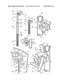 HANDBRAKE TOOL FOR RAILROAD CAR diagram and image