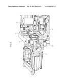 MOUNTING STRUCTURE OF HIGH PRESSURE FUEL PUMP FOR GASOLINE DIRECT     INJECTION ENGINE diagram and image