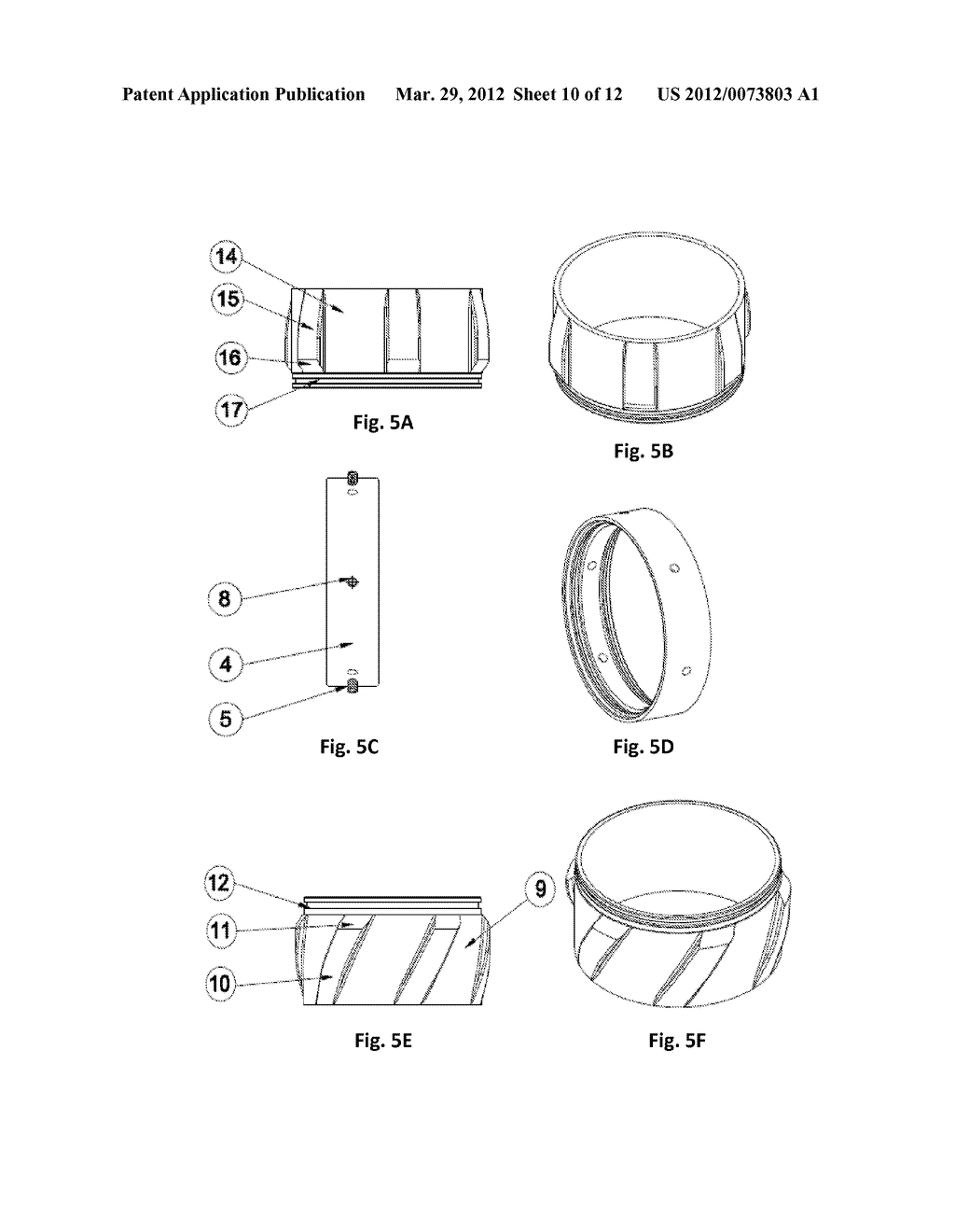 DUAL ROTARY CENTRALIZER FOR A BOREHOLE - diagram, schematic, and image 11