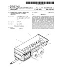 COMBINATION MATERIAL DEFLECTOR AND DOOR SEAL FOR A MATERIAL SPREADER diagram and image