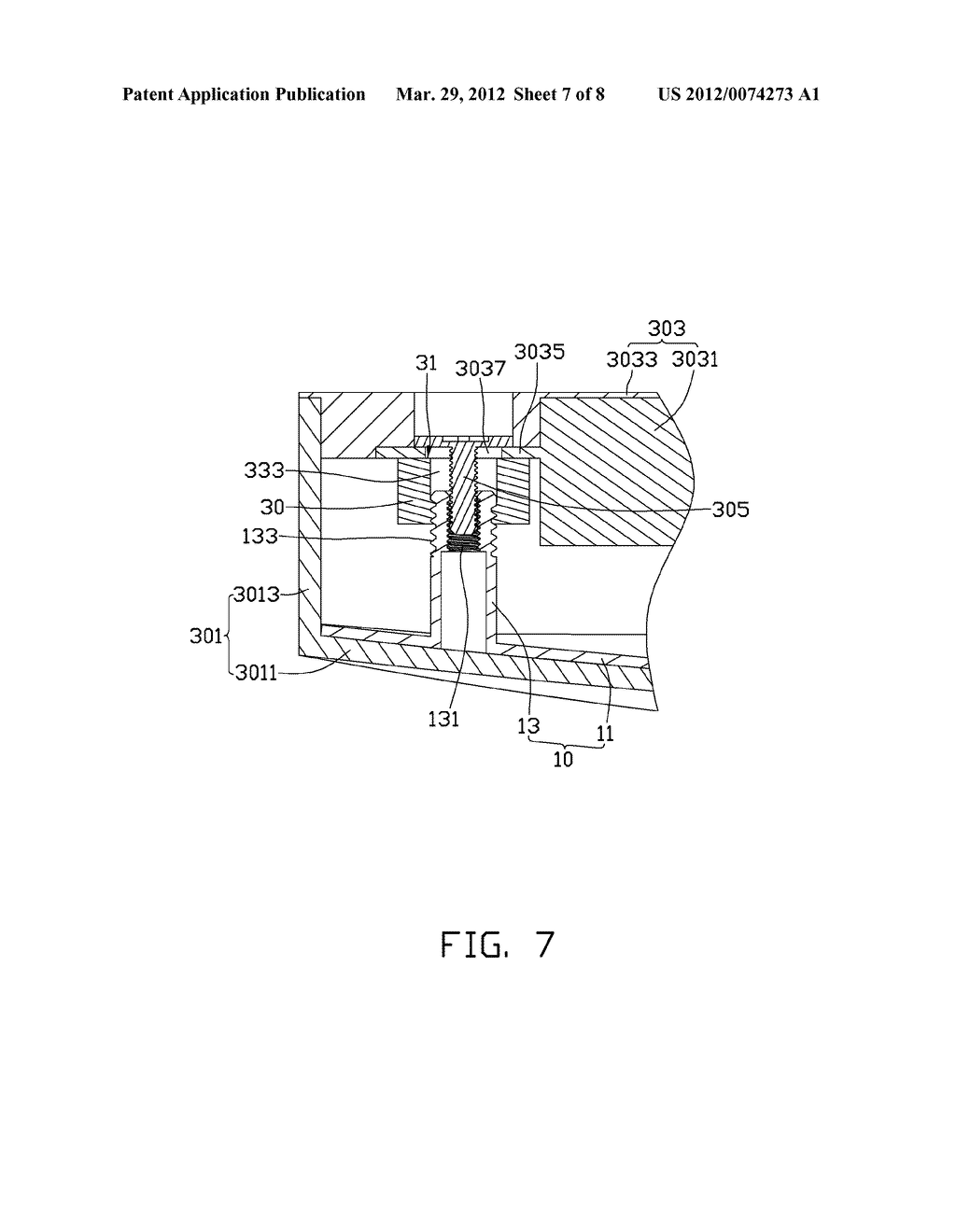HEIGHT ADJUSTMENT MECHANISM AND ASSEMBLY METHOD FOR ELECTRONIC DEVICE     USING THE SAME - diagram, schematic, and image 08