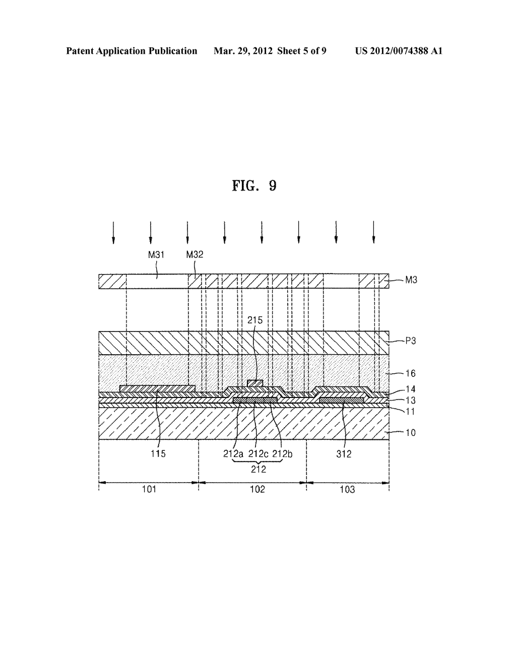 Organic Light-Emitting Display Device and Method of Manufacturing the Same - diagram, schematic, and image 06