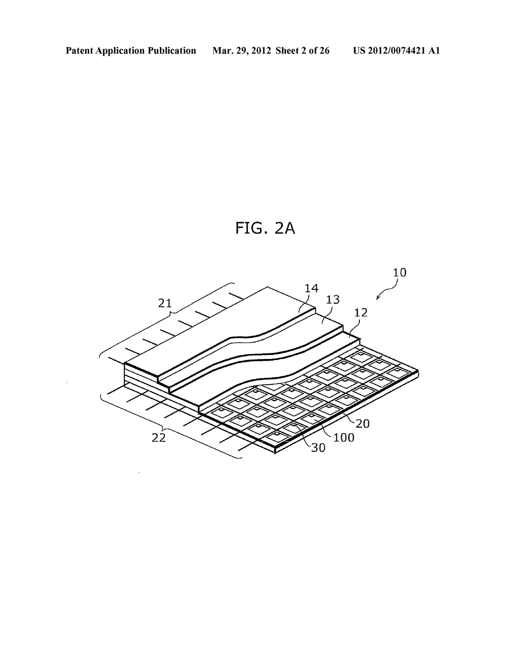 THIN-FILM TRANSISTOR ARRAY DEVICE, EL DISPLAY PANEL, EL DISPLAY DEVICE,     THIN-FILM TRANSISTOR ARRAY DEVICE MANUFACTURING METHOD, EL DISPLAY PANEL     MANUFACTURING METHOD - diagram, schematic, and image 03