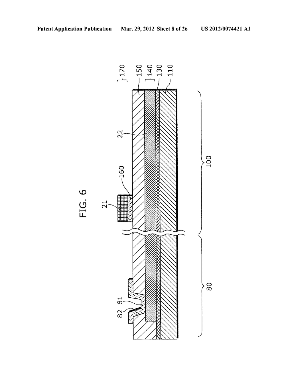 THIN-FILM TRANSISTOR ARRAY DEVICE, EL DISPLAY PANEL, EL DISPLAY DEVICE,     THIN-FILM TRANSISTOR ARRAY DEVICE MANUFACTURING METHOD, EL DISPLAY PANEL     MANUFACTURING METHOD - diagram, schematic, and image 09