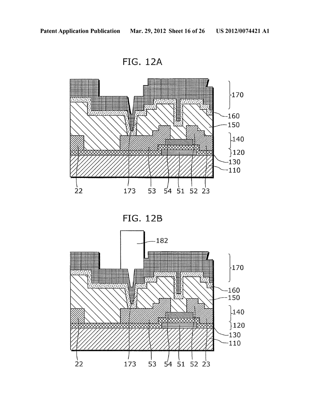 THIN-FILM TRANSISTOR ARRAY DEVICE, EL DISPLAY PANEL, EL DISPLAY DEVICE,     THIN-FILM TRANSISTOR ARRAY DEVICE MANUFACTURING METHOD, EL DISPLAY PANEL     MANUFACTURING METHOD - diagram, schematic, and image 17