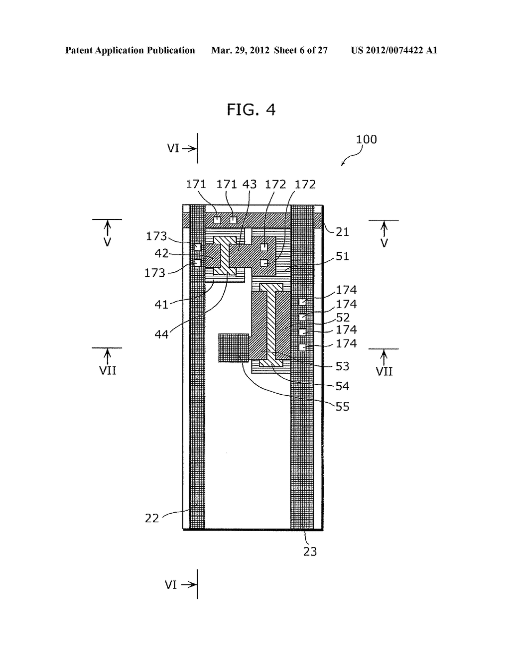THIN-FILM TRANSISTOR ARRAY DEVICE, EL DISPLAY PANEL, EL DISPLAY DEVICE,     THIN-FILM TRANSISTOR ARRAY DEVICE MANUFACTURING METHOD, EL DISPLAY PANEL     MANUFACTURING METHOD - diagram, schematic, and image 07