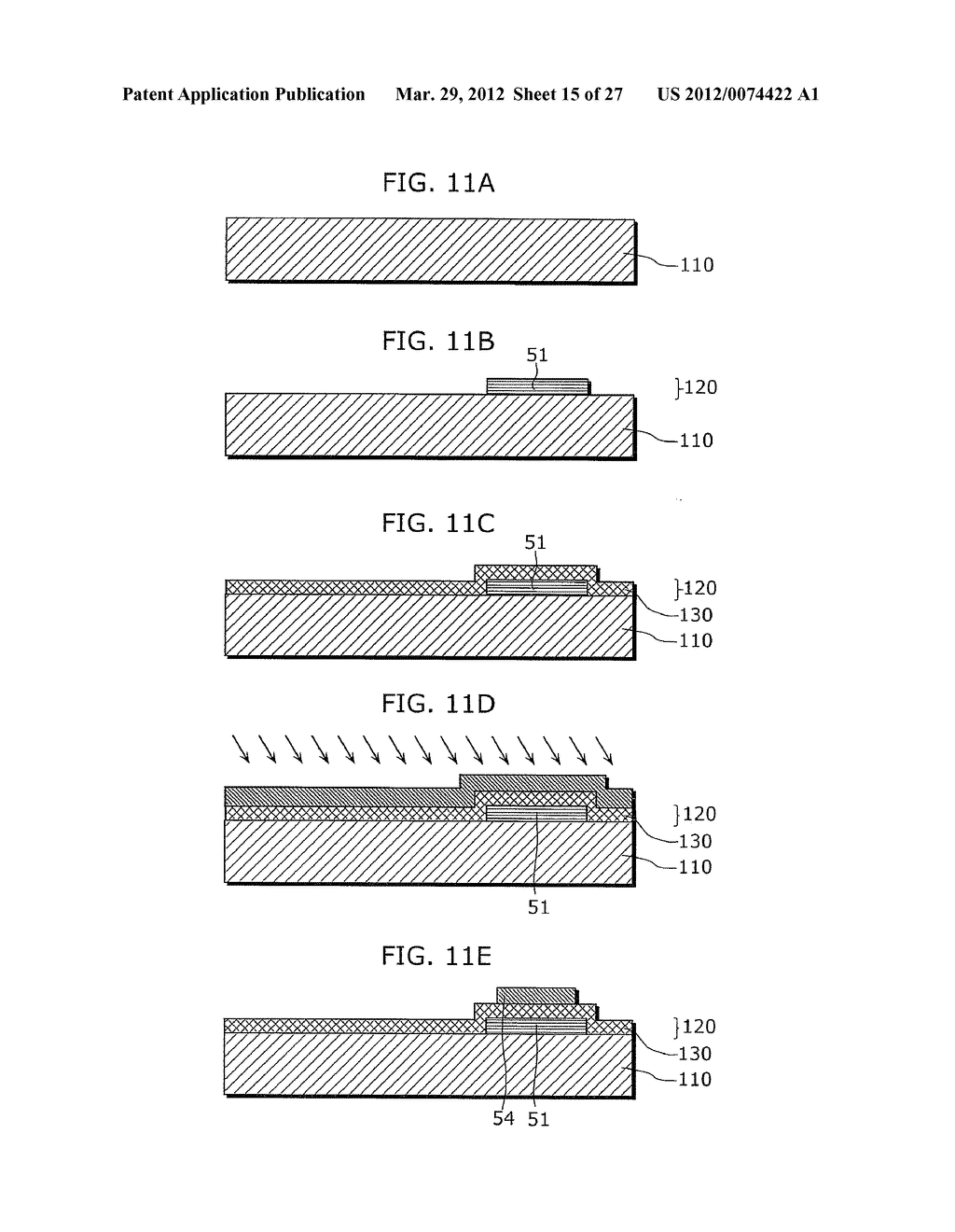 THIN-FILM TRANSISTOR ARRAY DEVICE, EL DISPLAY PANEL, EL DISPLAY DEVICE,     THIN-FILM TRANSISTOR ARRAY DEVICE MANUFACTURING METHOD, EL DISPLAY PANEL     MANUFACTURING METHOD - diagram, schematic, and image 16