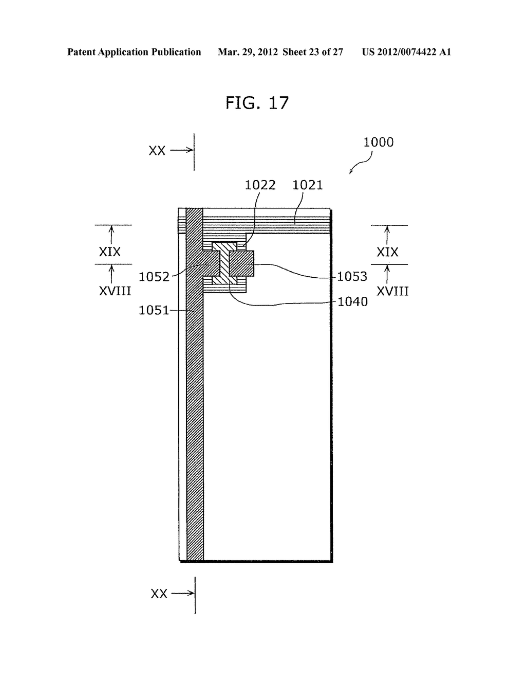 THIN-FILM TRANSISTOR ARRAY DEVICE, EL DISPLAY PANEL, EL DISPLAY DEVICE,     THIN-FILM TRANSISTOR ARRAY DEVICE MANUFACTURING METHOD, EL DISPLAY PANEL     MANUFACTURING METHOD - diagram, schematic, and image 24