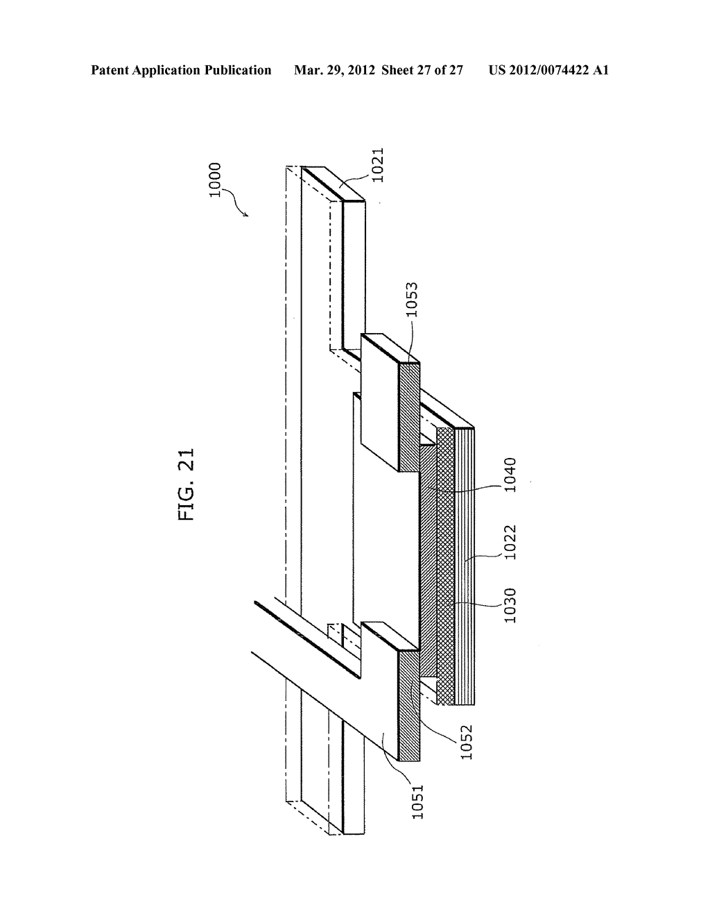 THIN-FILM TRANSISTOR ARRAY DEVICE, EL DISPLAY PANEL, EL DISPLAY DEVICE,     THIN-FILM TRANSISTOR ARRAY DEVICE MANUFACTURING METHOD, EL DISPLAY PANEL     MANUFACTURING METHOD - diagram, schematic, and image 28