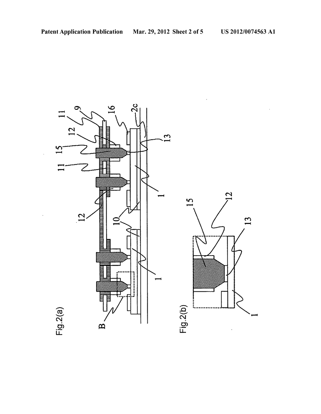 Semiconductor apparatus and the method of manufacturing the same - diagram, schematic, and image 03