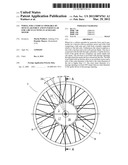 Wheel for a vehicle operable by muscular force and in particular for a     bicycle with an auxiliary motor diagram and image