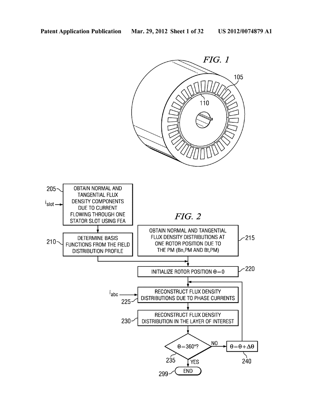 Methods and Apparatuses for Fault Management in Permanent Magnet     Synchronous Machines Using the Field Reconstruction Method - diagram, schematic, and image 02