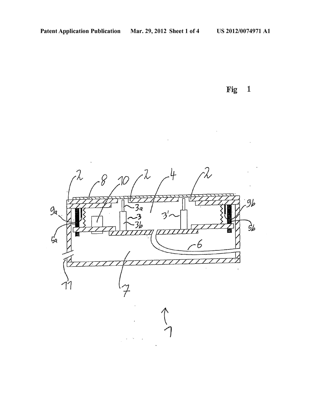 MEASURING DEVICE FOR ELECTRICALLY MEASURING A FLAT MEASUREMENT STRUCTURE     THAT CAN BE CONTACTED ON ONE SIDE - diagram, schematic, and image 02