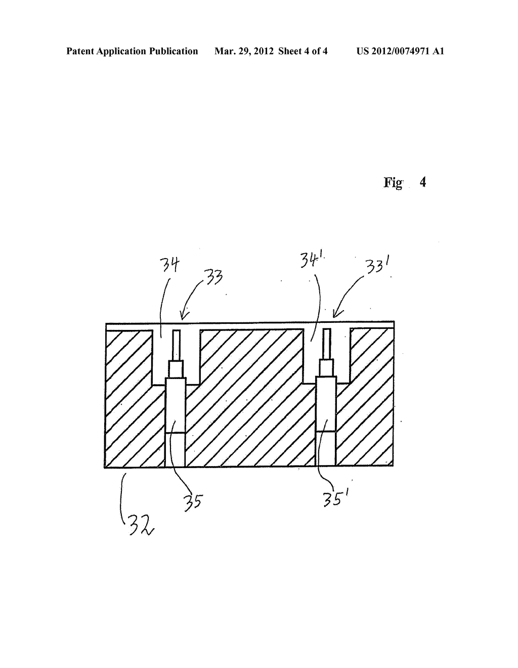 MEASURING DEVICE FOR ELECTRICALLY MEASURING A FLAT MEASUREMENT STRUCTURE     THAT CAN BE CONTACTED ON ONE SIDE - diagram, schematic, and image 05