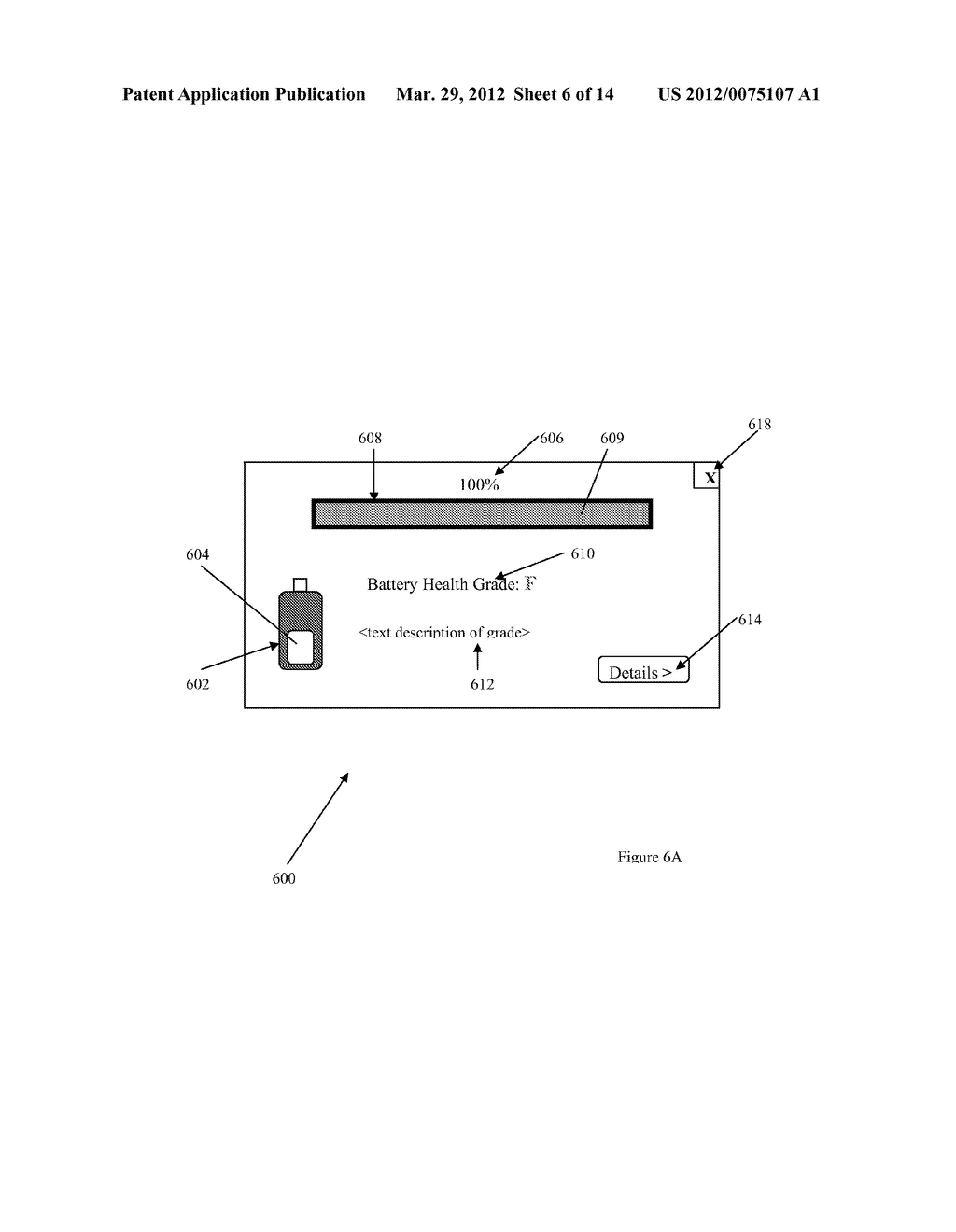 BATTERY STATE INDICATOR ON A BATTERY POWERED DEVICE - diagram, schematic, and image 07