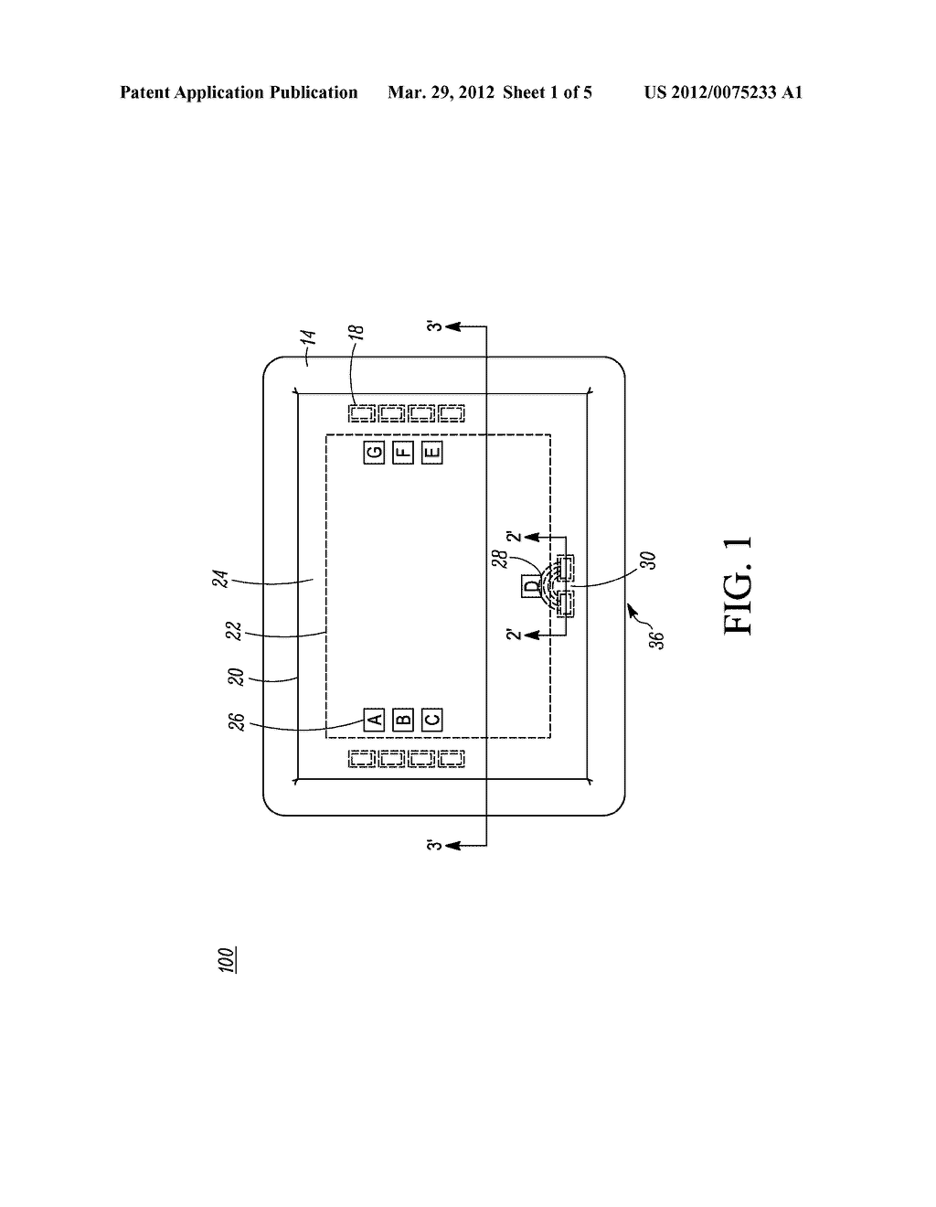 DEVICE DISPLAY WITH A TOUCH SENSOR - diagram, schematic, and image 02