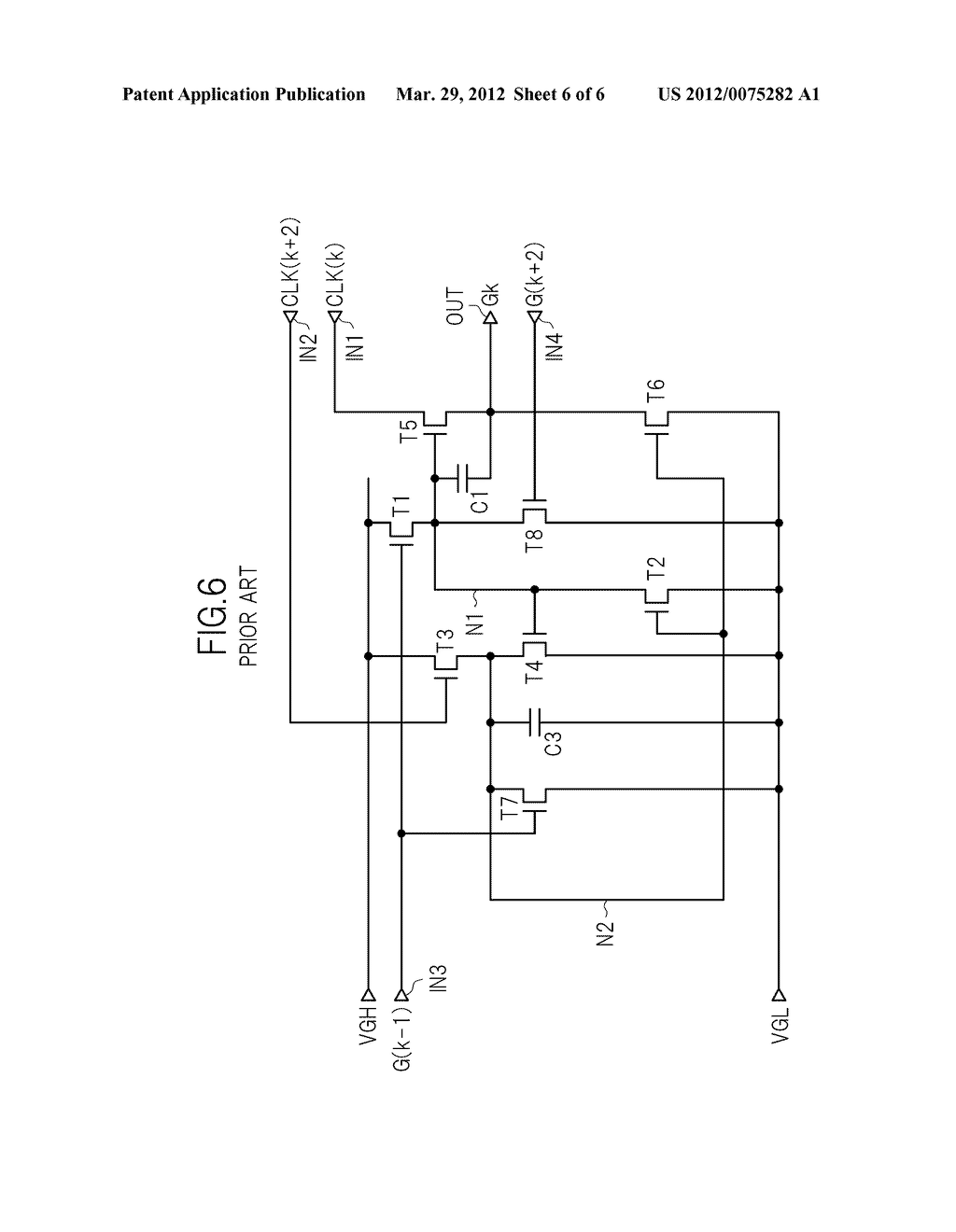 DRIVE CIRCUIT FOR DISPLAY PANEL, AND DISPLAY DEVICE - diagram, schematic, and image 07
