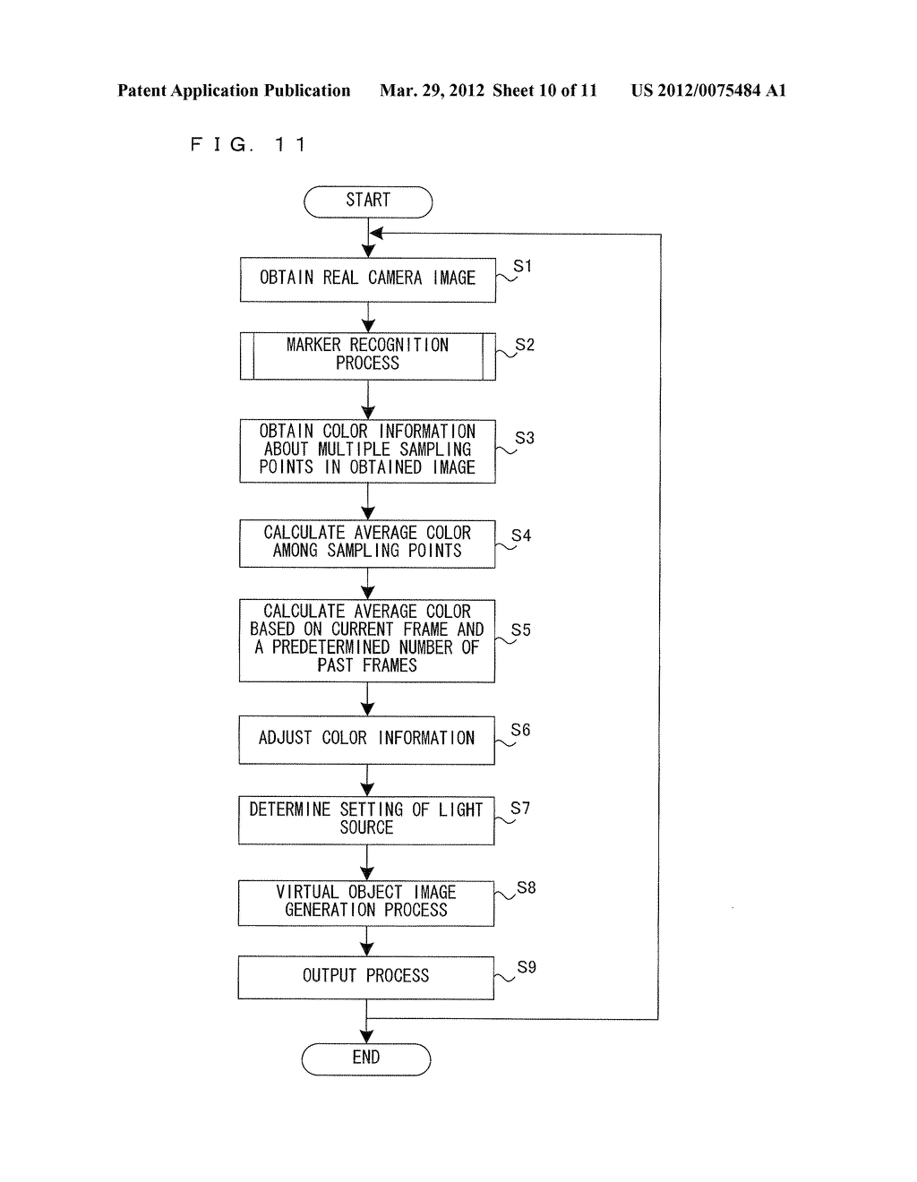 COMPUTER-READABLE STORAGE MEDIUM HAVING IMAGE PROCESSING PROGRAM STORED     THEREIN, IMAGE PROCESSING APPARATUS, IMAGE PROCESSING SYSTEM, AND IMAGE     PROCESSING METHOD - diagram, schematic, and image 11