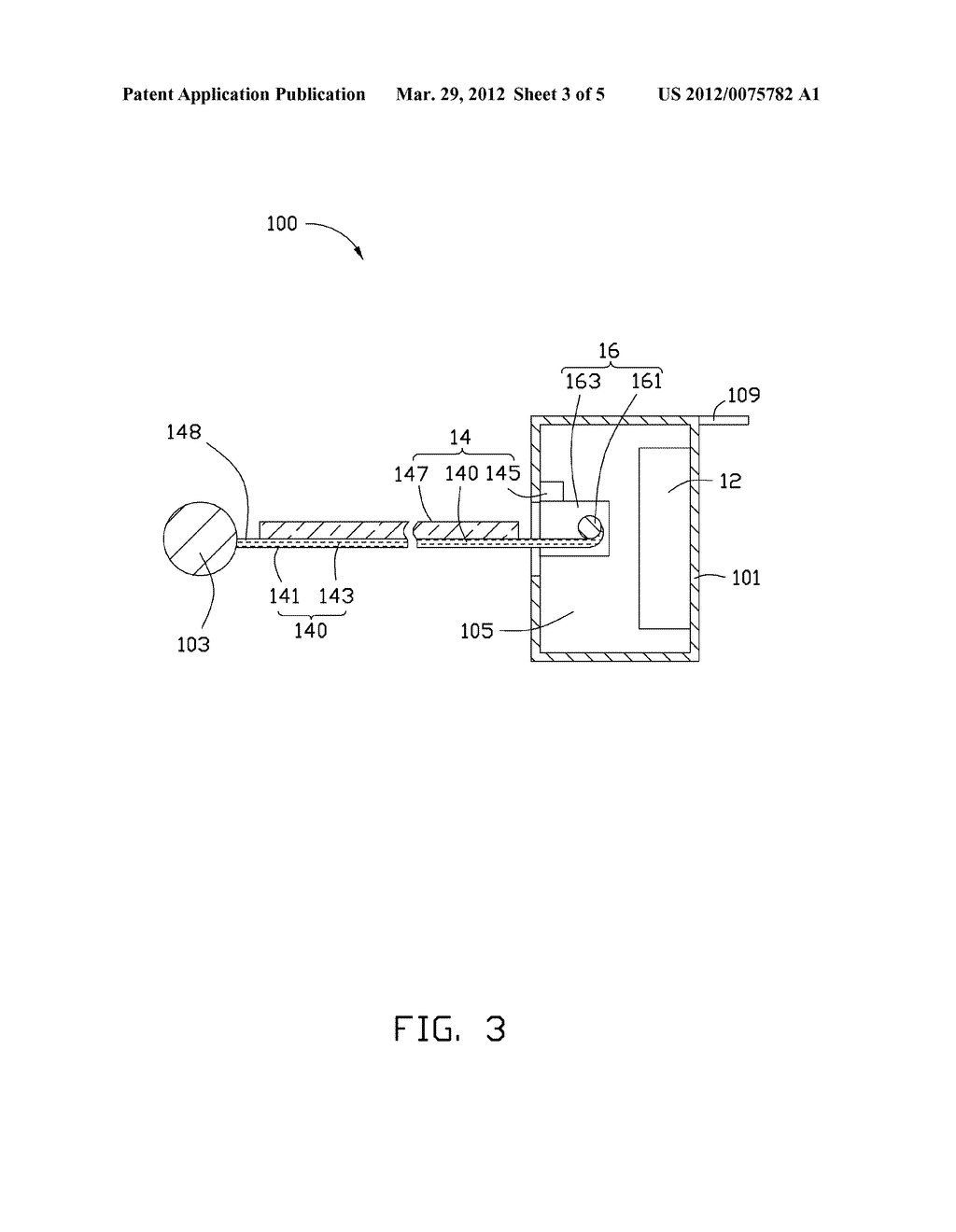 FLEXIBLE DISPLAY AND ELECTRONIC DEVICE HAVING THE SAME - diagram, schematic, and image 04