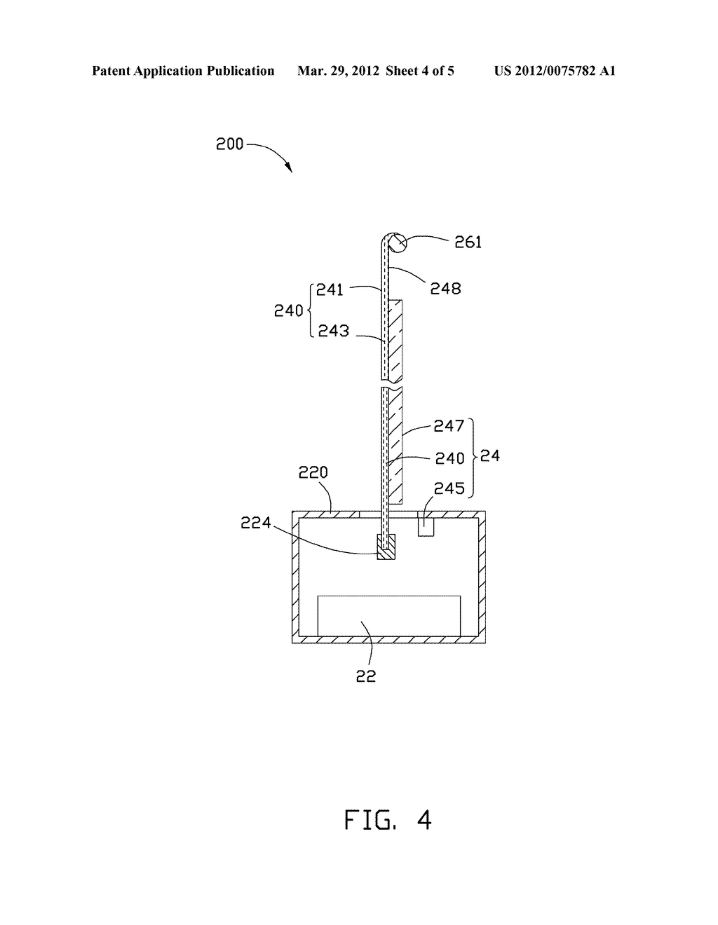 FLEXIBLE DISPLAY AND ELECTRONIC DEVICE HAVING THE SAME - diagram, schematic, and image 05