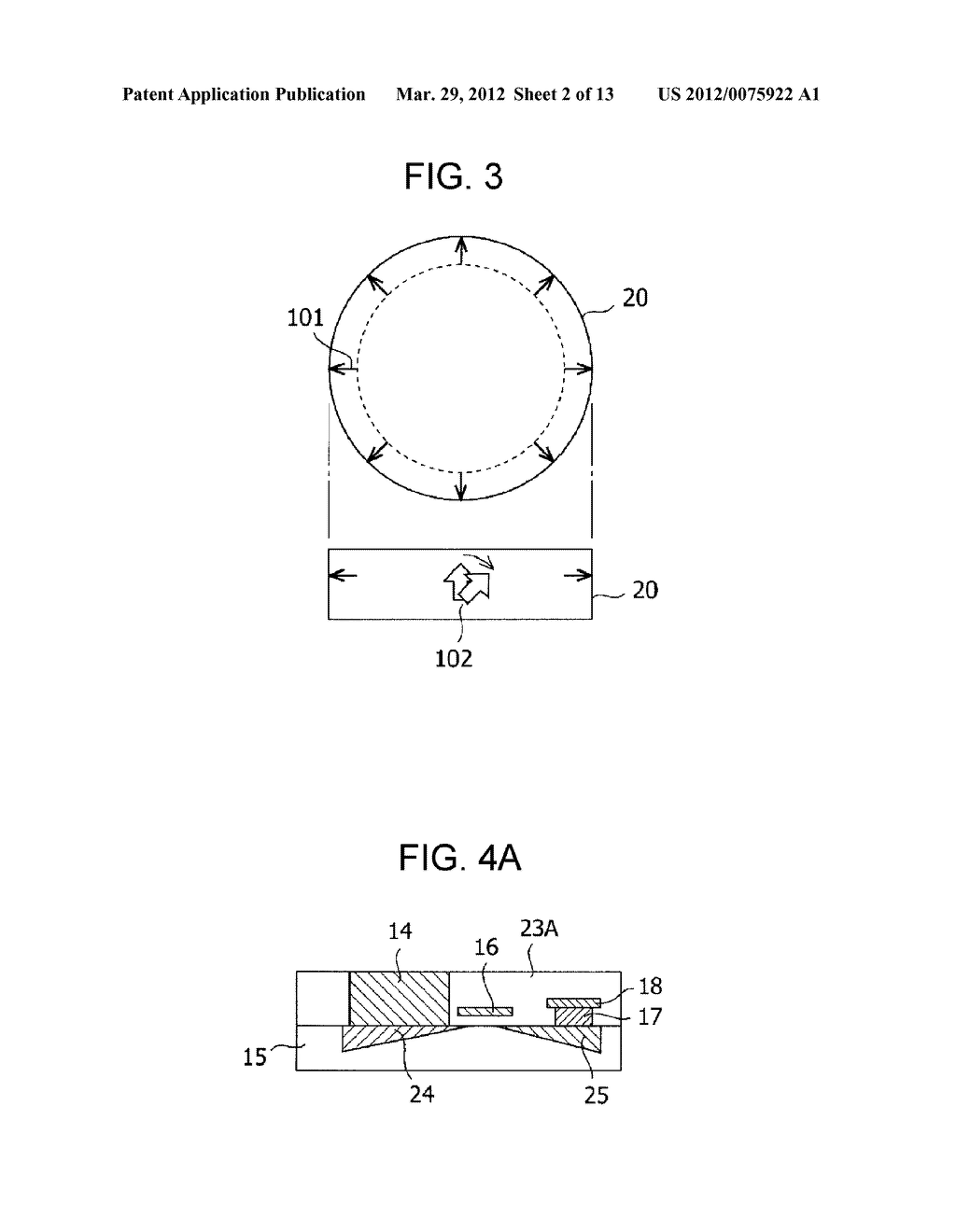 MAGNETIC MEMORY ELEMENT AND STORAGE DEVICE USING THE SAME - diagram, schematic, and image 03