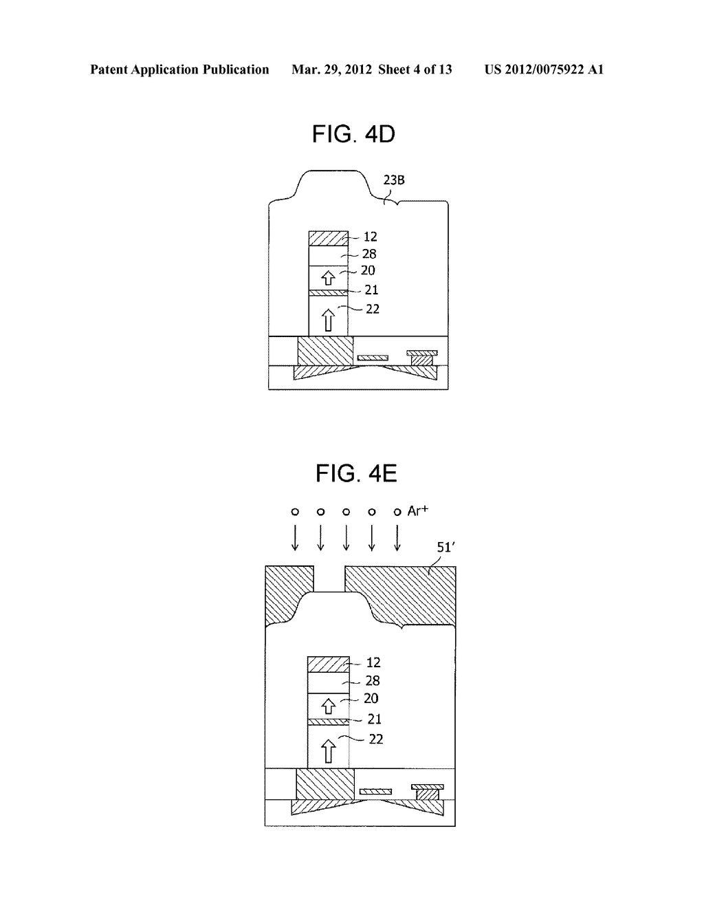 MAGNETIC MEMORY ELEMENT AND STORAGE DEVICE USING THE SAME - diagram, schematic, and image 05