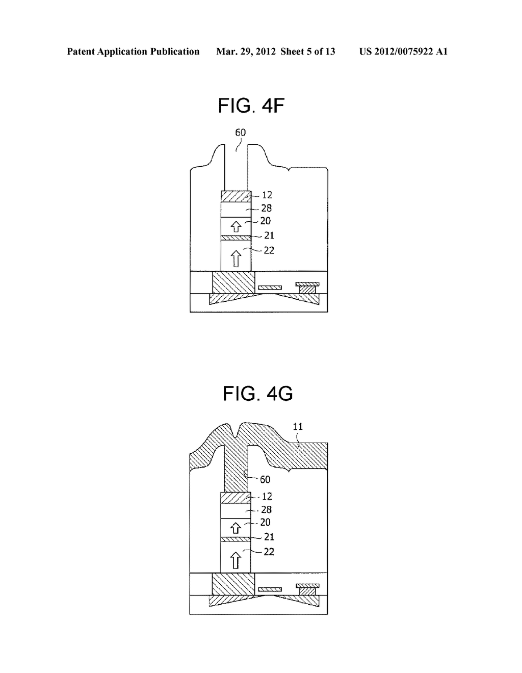 MAGNETIC MEMORY ELEMENT AND STORAGE DEVICE USING THE SAME - diagram, schematic, and image 06