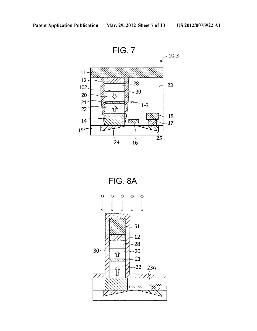 MAGNETIC MEMORY ELEMENT AND STORAGE DEVICE USING THE SAME - diagram, schematic, and image 08