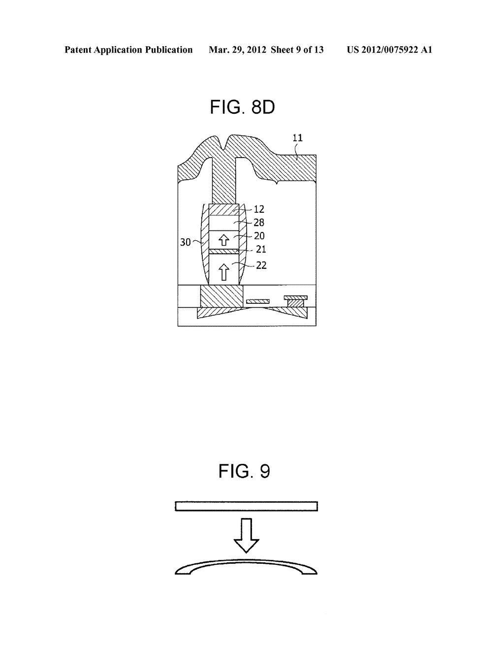 MAGNETIC MEMORY ELEMENT AND STORAGE DEVICE USING THE SAME - diagram, schematic, and image 10