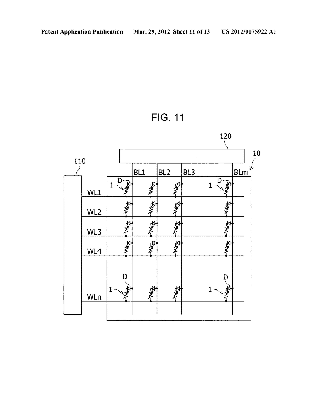 MAGNETIC MEMORY ELEMENT AND STORAGE DEVICE USING THE SAME - diagram, schematic, and image 12