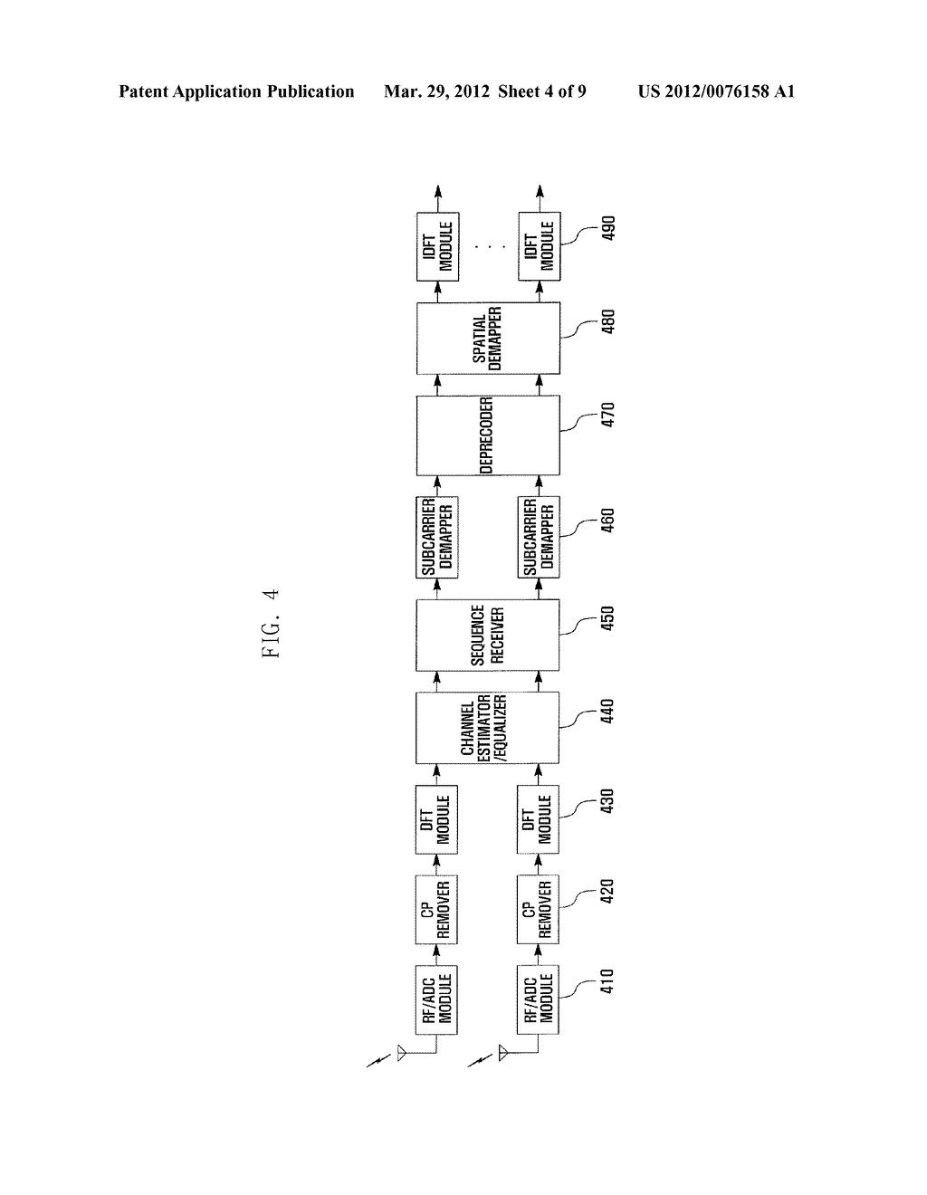 METHOD AND APPARATUS FOR TRANSMITTING/RECEIVING DATA IN SINGLE CARRIER     FREQUENCY DIVISION MULTIPLE ACCESS SYSTEM - diagram, schematic, and image 05