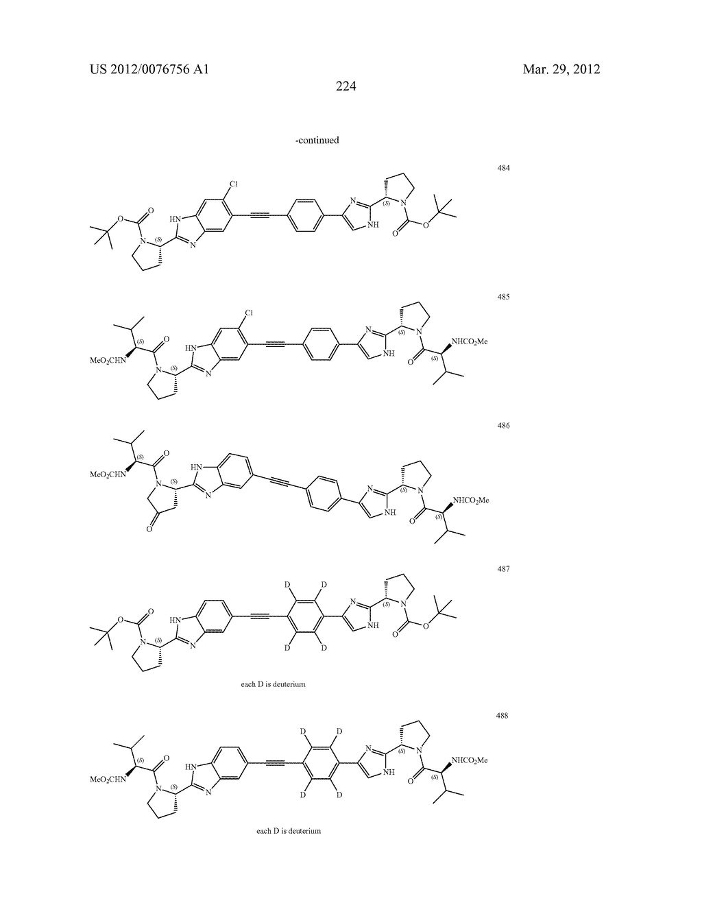 NOVEL BENZIMIDAZOLE DERIVATIVES - diagram, schematic, and image 224