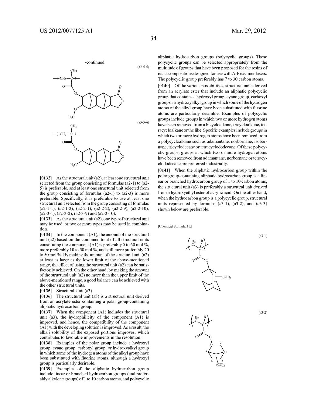 RESIST COMPOSITION FOR IMMERSION EXPOSURE, METHOD OF FORMING RESIST     PATTERN USING THE SAME, AND FLUORINE-CONTAINING COMPOUND - diagram, schematic, and image 36