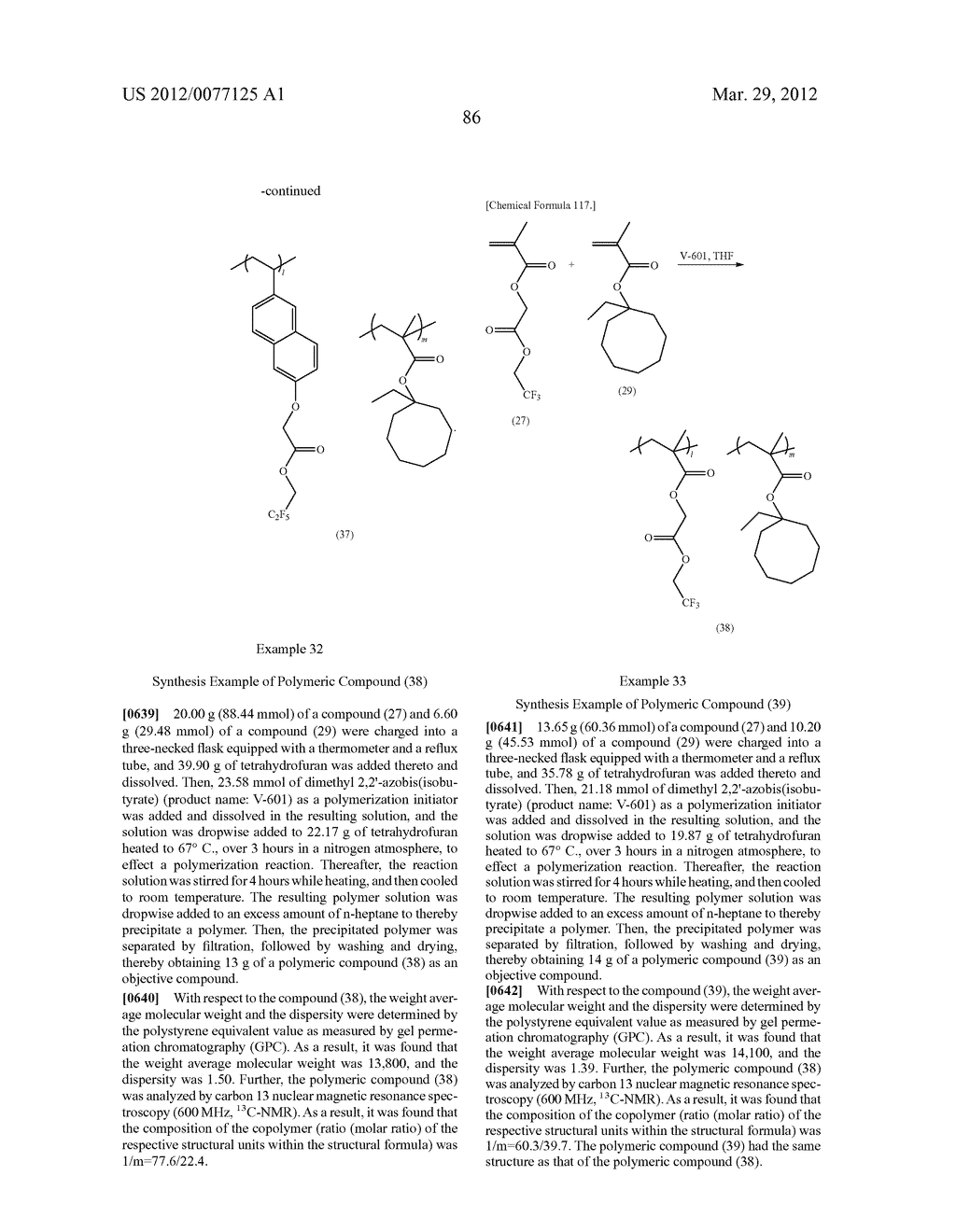 RESIST COMPOSITION FOR IMMERSION EXPOSURE, METHOD OF FORMING RESIST     PATTERN USING THE SAME, AND FLUORINE-CONTAINING COMPOUND - diagram, schematic, and image 88