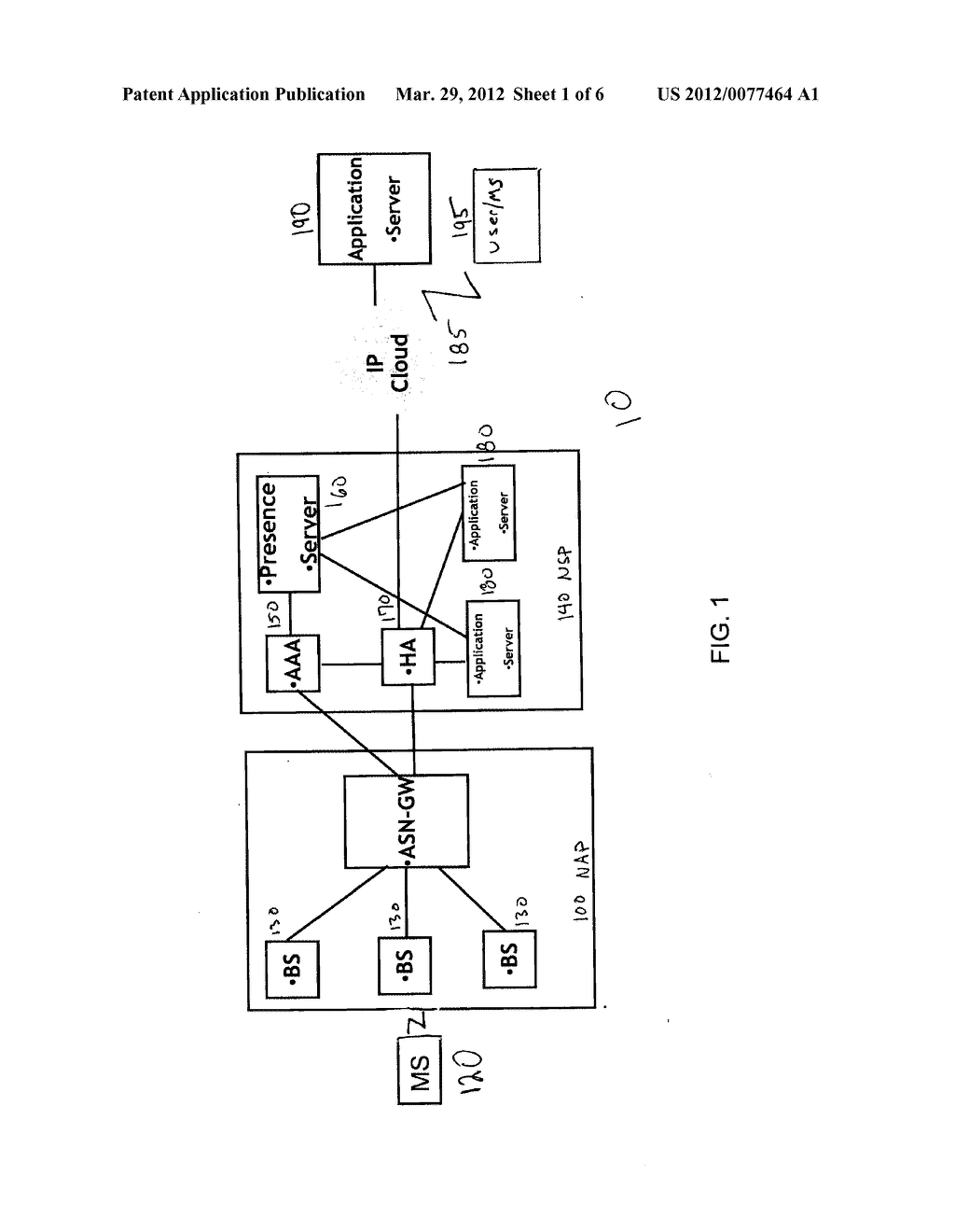 METHOD FOR MANAGING A STATUS OF A MOBILE STATION IN A WIRELESS NETWORK - diagram, schematic, and image 02