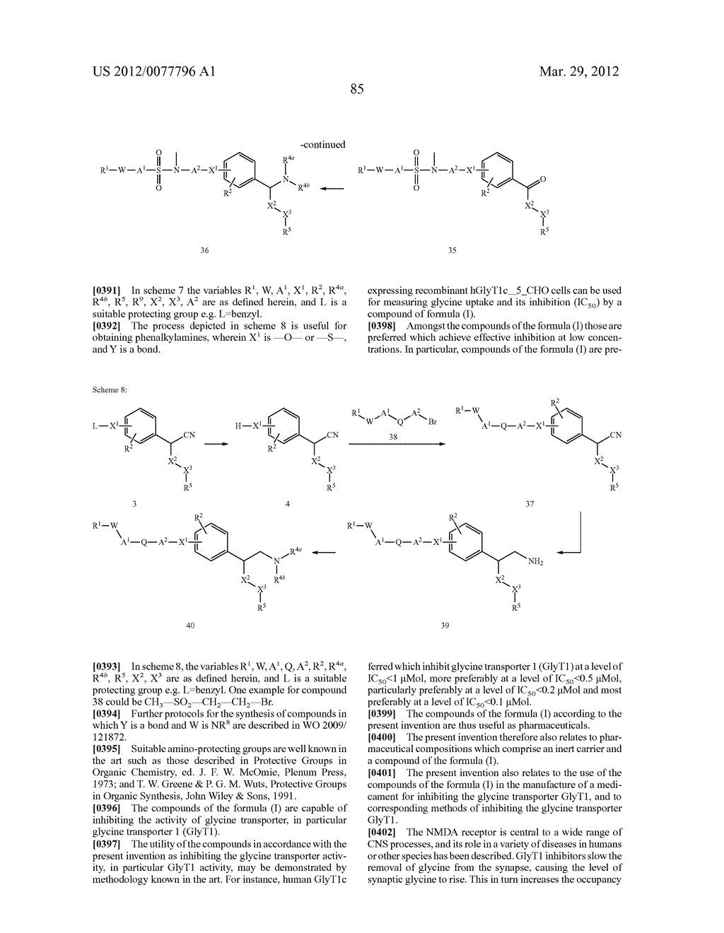 PHENALKYLAMINE DERIVATIVES, PHARMACEUTICAL COMPOSITIONS CONTAINING THEM,     AND THEIR USE IN THERAPY - diagram, schematic, and image 86